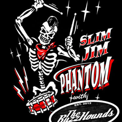Slim Jim Phantom (Stray Cats) with the BuzzHounds and Bailey Dee'